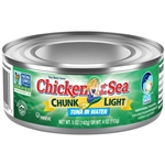 Chicken Of The Sea Light Tuna Chunk In Water 5 Oz.