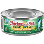 Chicken Of The Sea Light Tuna In Water Less Sodium Chunk  5 Oz.