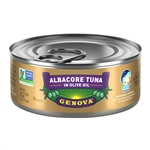 Genova Solid White Albacore Tuna in Olive Oil - 5 Oz.