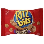 Kraft Nabisco Ritz Bits Sandwich Peanut Butter Single Serve Tray Pack - 1 Oz.