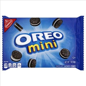 Kraft Nabisco Oreo Mini Chocolate Sandwich Single Serve - 1 Oz.