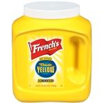 Frenchs Plastic Container Mustard Yellow - 105 Oz.