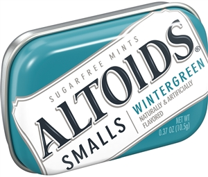 Wrigleys Altoids Smalls Wintergreen Sugar Free Mint
