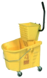 Splash Guard Combo Packs and Backsaver Combo Yellow - 35 Qt.