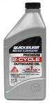Motor Oil Mercury Quicksilver TCW3 - 16 Oz.