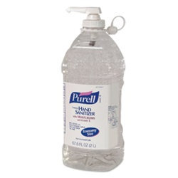 Gojo Purell Hand Sanitizer Bottle Pump - 2 Ltr.