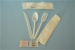 Goldmax Knife Fork Spoon and Napkin Meal Kit