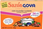 Goya Coriander and Achiote Jumbo Sazon - 6.33 Oz.