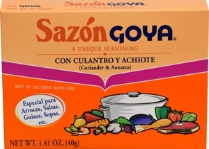 Goya Coriander and Achiote Sazon - 1.41 Oz.
