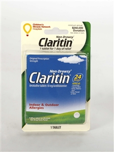 Convenience Valet Claritin Non-Drowsy One Tablet