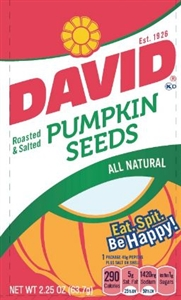 Conagra David Pumpkin Seeds - 2.25 Oz.