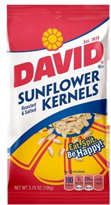 Conagra David Sunflower Kernels - 3.75 Oz.