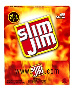 Conagra Slim Jim Dried Meat Snack - 0.44 Oz.