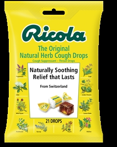 Ricola Original Natural Herb Cough Drop Bags