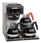 Bunn Pourover Coffee Brewers With 3 Warmers