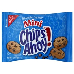 Kraft Nabisco Chips Ahoy Minature Snack Single Serve - 1 Oz.