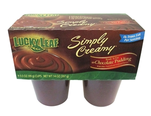 Simply Creamy Chocolate Pudding - 3.5 Oz.