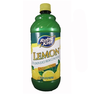 Clement Pappas Blend Ruby Kist Lemon Juice - 32 Oz.