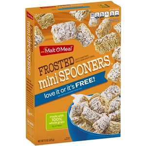 Malt-O-Meal Frosted Mini Spooners Cereal 15 oz.