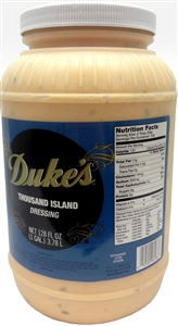 Dukes Thousand Island Dressing - 1 Gal.