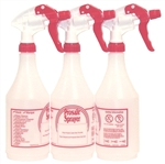 Continental Plastic Bottle Trigger Spray Red - 24 Oz.