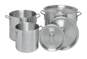 Stock Pot Aluminum - 10 Qt.