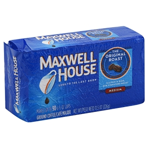 Kraft Nabisco Maxwell House Original Roast Ground Medium Coffee - 11.5 Oz.