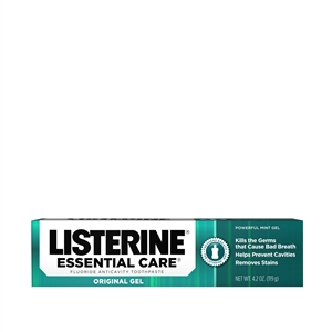 Listerine Essential Care Mint Toothpaste - 4.2 Oz.