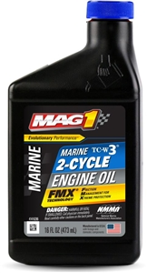 Motor Oil Mag1 TCW3 All Purpose 2 Cycle - 16 Oz.