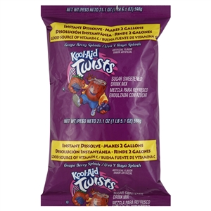 Kool-Aid Powdered Grape Berry Splash Soft Drink - 21.1 oz.