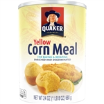 Pepsico Quaker Yellow Cornmeal Tube - 1.5 Lb.