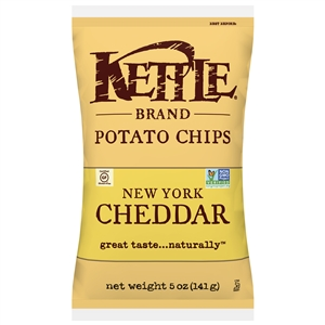 Kettle New York Cheddar With Herbs Potato Chip - 5 Oz.