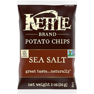 Kettle Lightly Salted Caddy Potato Chip - 2 Oz.