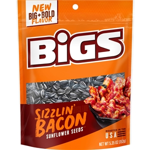 Thanasi Bigs Sunflower Seeds Original Sizzlin' Bacon - 5.35 Oz.