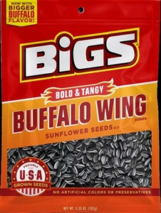 Thanasi Bigs Sunflower Seeds Buffalo Wing - 5.35 Oz.
