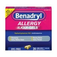 Benadryl Allergy Liquid Gel