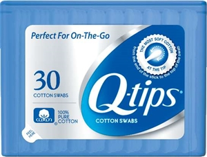 Unilever Best Foods Q-Tips Cotton Swabs Purse - 30 Count