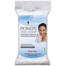 Towlettes Ponds Make Up Remover