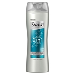 Unilever Best Foods Suave 2 In 1 Plus Shampoo Conditioner - 14.5 Oz.