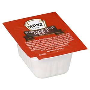 Heinz Southwest Style Chipotle Dipping Sauce - 0.85 Oz.