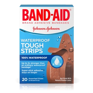 Band Aid Tough Strips Assortment