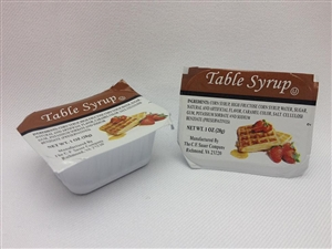 Mayo, Dressings and Condiments Regular Table Syrup - 1 Oz.