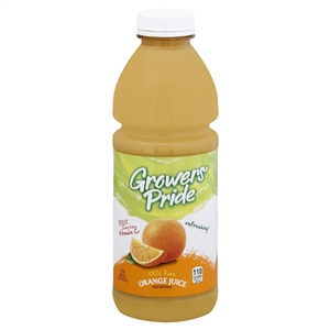 Growers Pride 100 Percentage Orange Juice - 1 Lit.