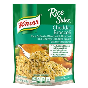 Knorr Rice Sides Cheddar Broccoli - 5.7 oz.