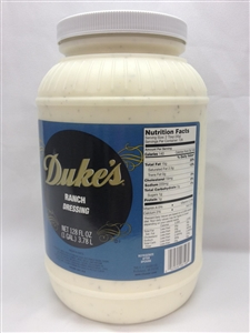 Dukes Ranch Dressing - 1 Gal.