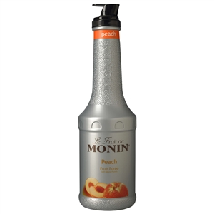 Monin Peach Fruit Puree - 1 Liter