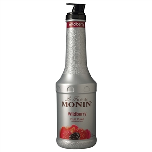Monin Wildberry Fruit Puree - 1 Liter