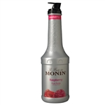 Monin Raspberry Fruit Puree - 1 Liter