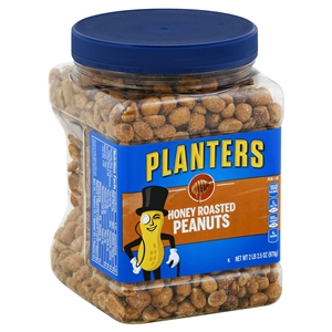 Planters Honey Dry Roasted Peanut - 34.5 oz.