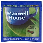 Coffee Maxwell House 100 Percentage Arabica Decaf Pod